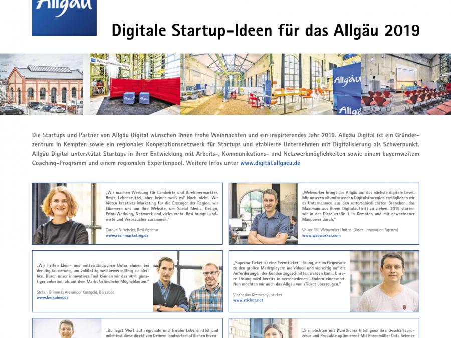 Resi goes Allgäuer Zeitung