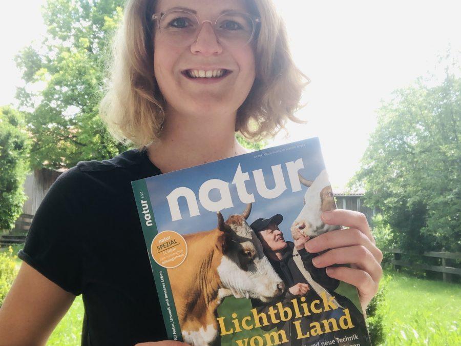 """Innovative Landwirtschaft – Titelgeschichte in """"natur"""""""